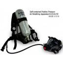 Alat bantu pernapasan huayan SCBA Composite RHZK6.8
