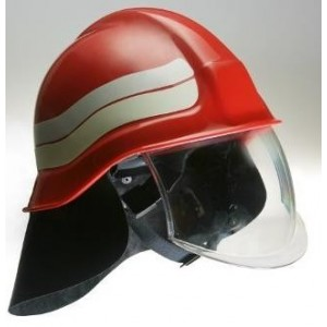 Helm petugas pemadam